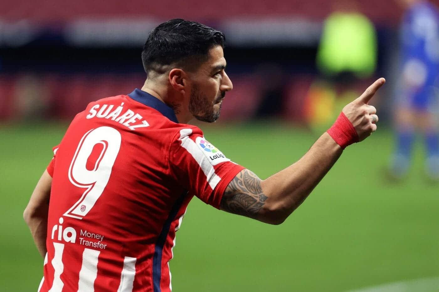 اللاعب الأوروغواي لويس سواريز