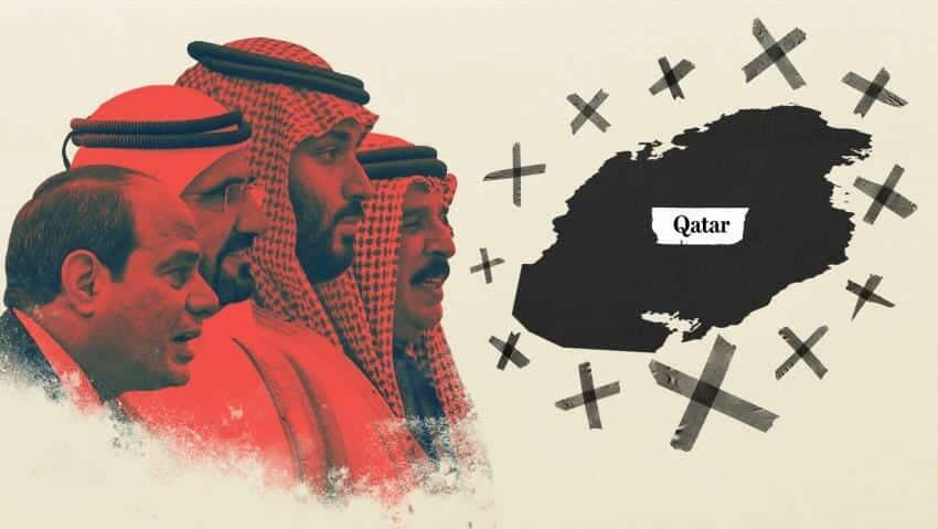 انهاء الازمة الخليجية بعيد المنال