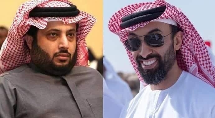 تركي آل الشيخ ينظم ابياتاً شعرية في طحنون بن زايد بمناسبة عيد ميلاده