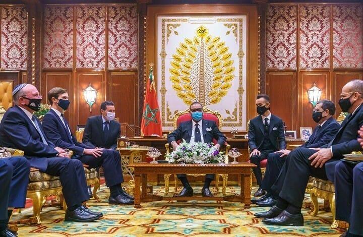 توقيع اتفاق التطبيع في المغرب