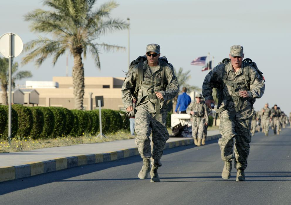 جنود أمريكيين في الكويت