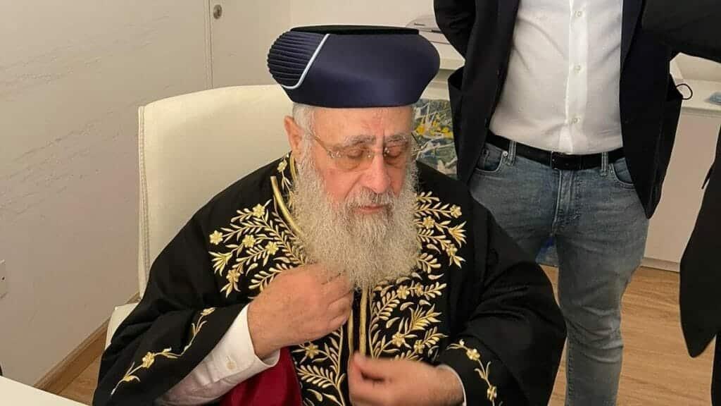 حاخام إسرائيل الأكبر يتسحاق يوسف يزور الإمارات ويدشن أول حضانة لأطفال الجالية اليهودية