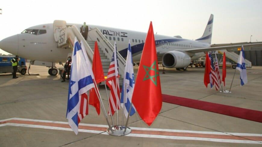 رحلة جوية من اسرائيل للمغرب