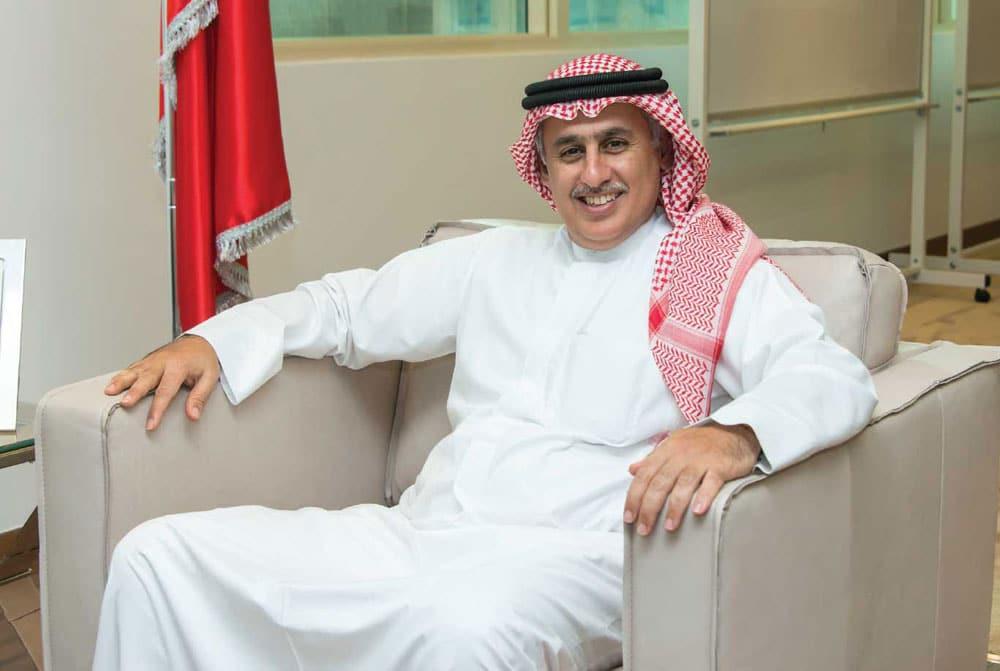 زايد بن راشد الزياني وزير بحريني