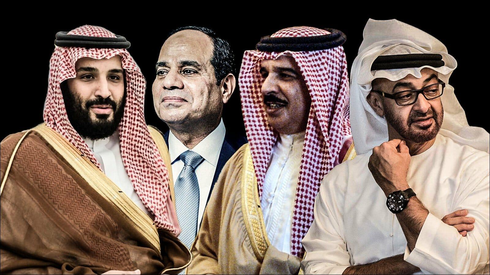 زعماء دول الحصار ، الأزمة الخليجية