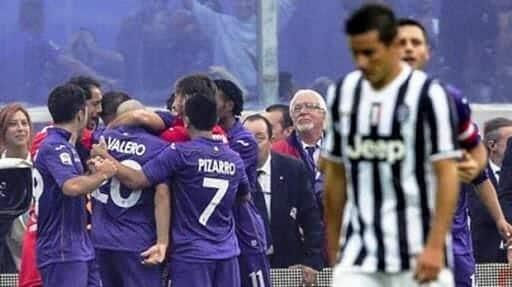 سقوط تاريخي لفريق يوفنتوس الإيطالي أمام فيورنتينا