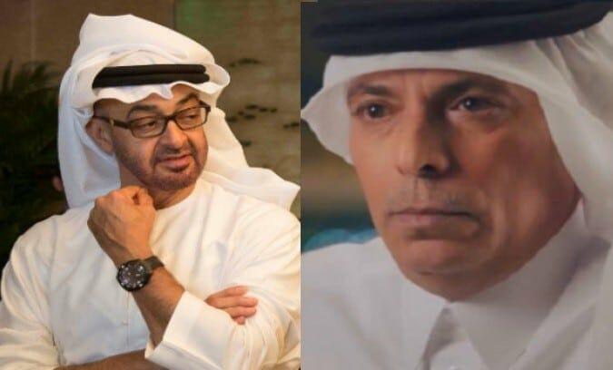 شاهين السليطي - محمد بن زايد