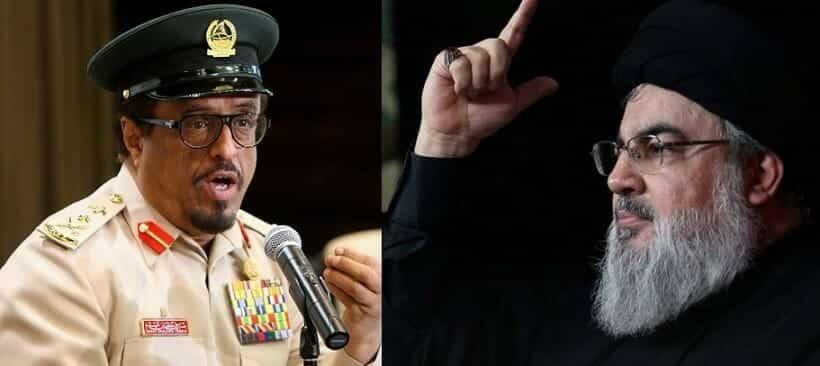 ضاحي خلفان يصف حسن نصر الله بأنه زعيم مافيا مخدرات