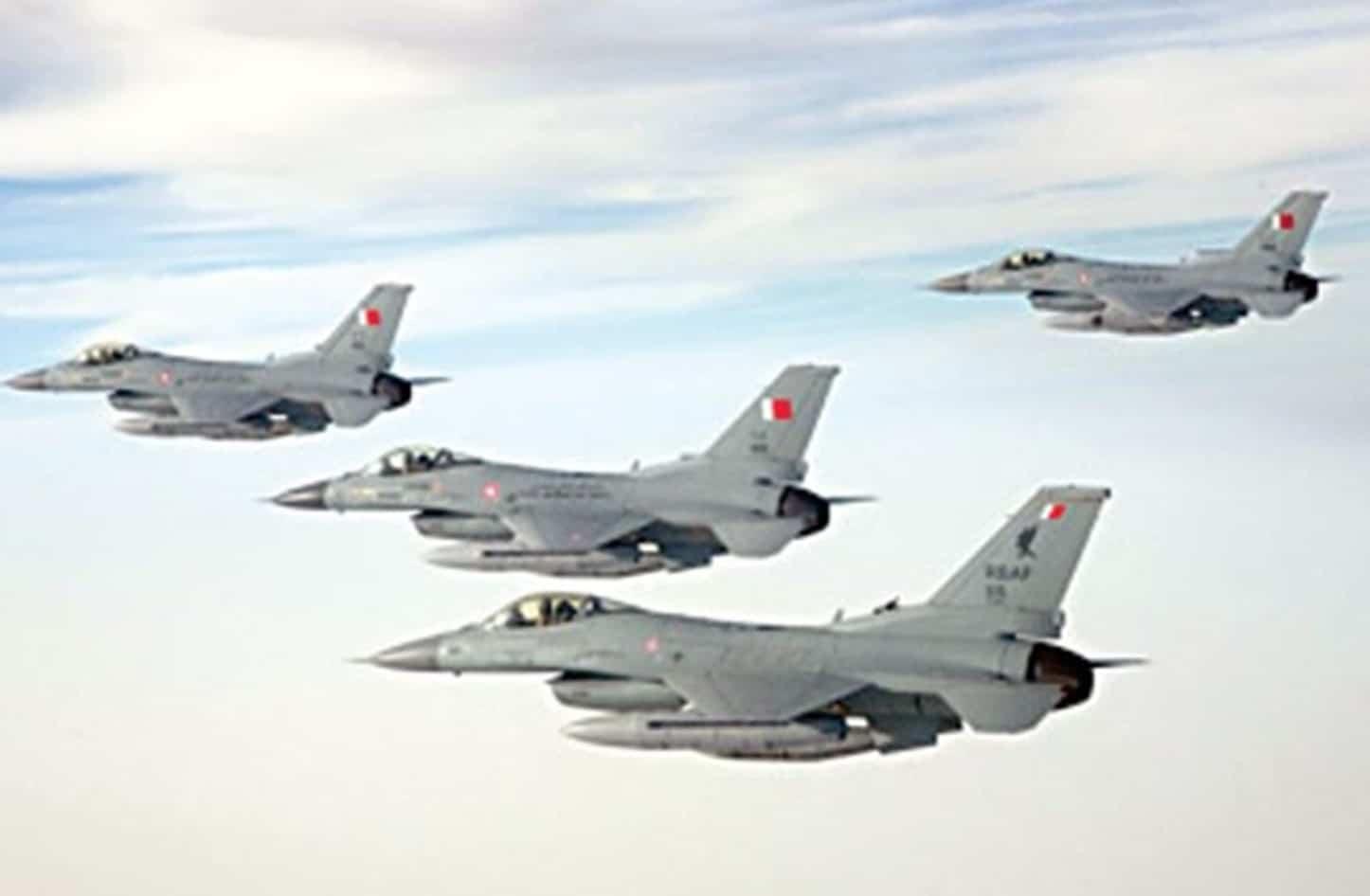 طائرات بحرينية