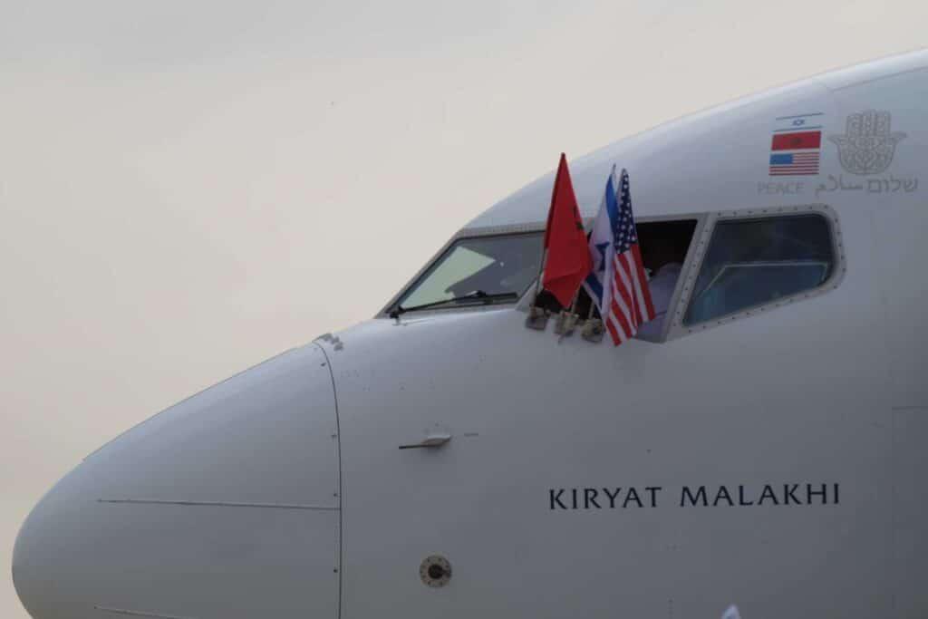 طائرة إسرائيلية للمغرب