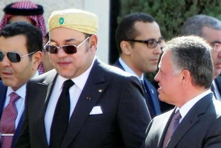 عبدالله الثاني ومحمد السادس