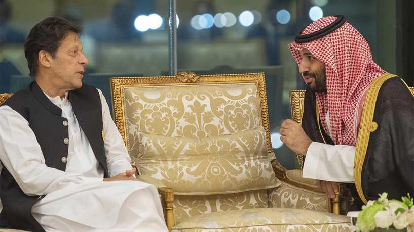 عمران خان و محمد بن سلمان