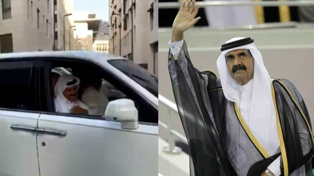 فرحة أمير قطر الوالد