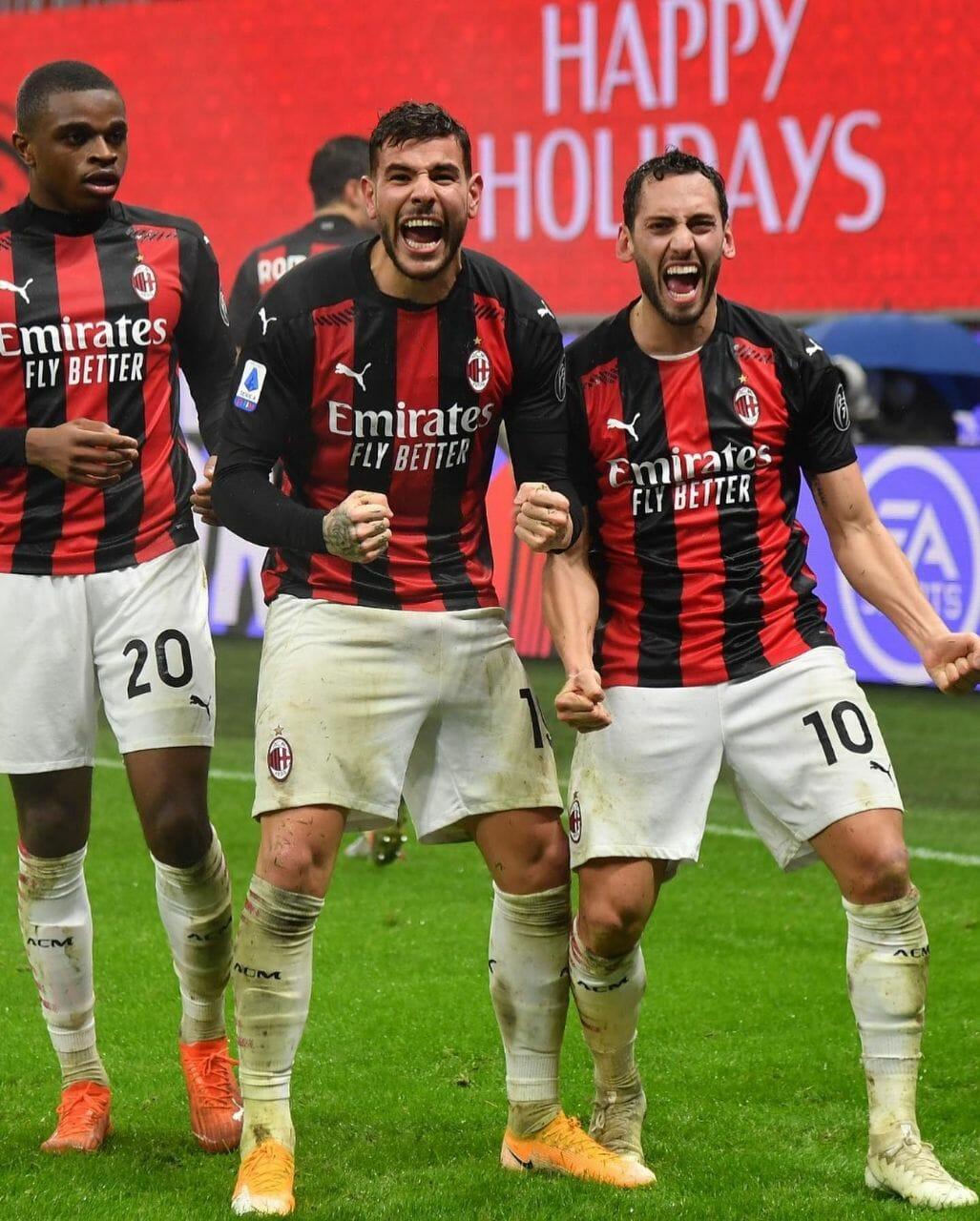 فريق الميلان الايطالي