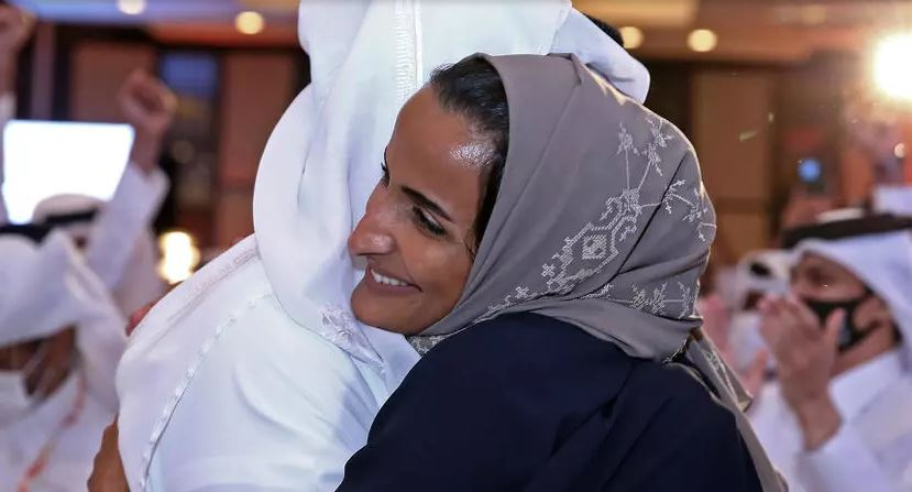 """""""شاهد"""" لحظة إعلان اكتساح قطر وفوزها بتنظيم آسياد 2030 والأمير تميم يعلق"""