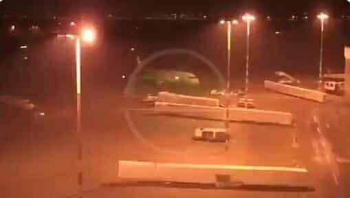 لحظة وصول قاسم سليماني لمطار بغداد