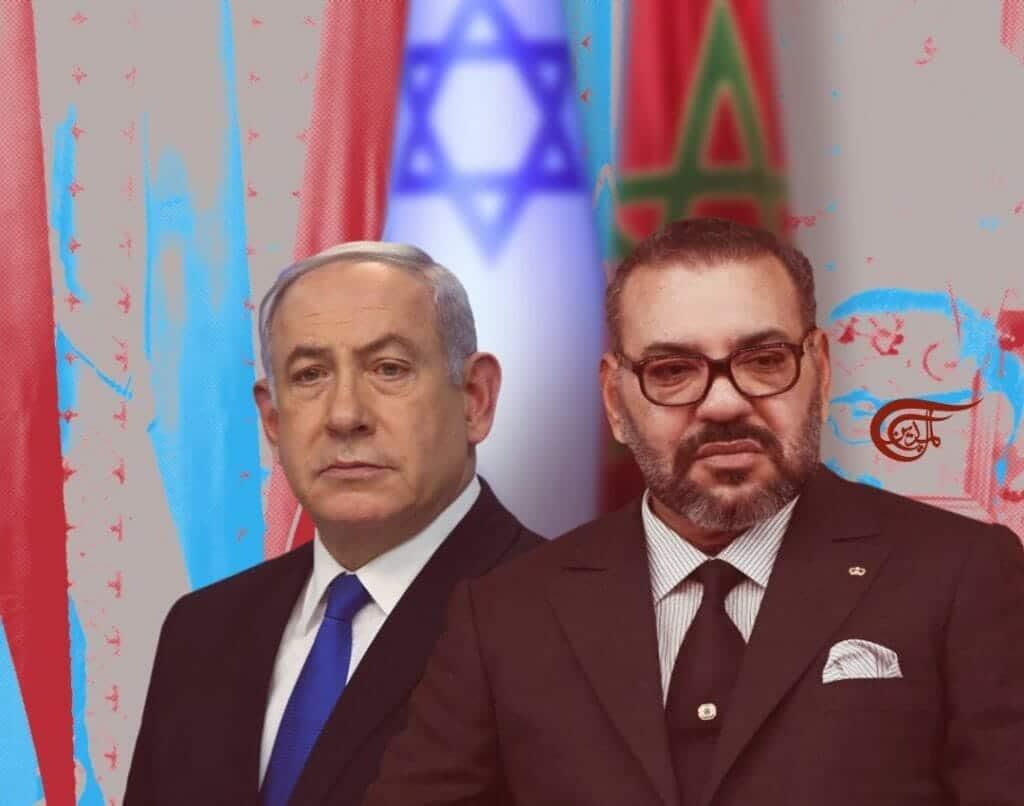 محمد السادس وبنيامين نتنياهو
