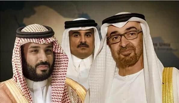 """""""شيطان العرب"""" وسوس لـِ""""ابن سلمان"""" لإفشال المصالحة مع قطر .. إليكم ما كشفه تقرير استخباري"""