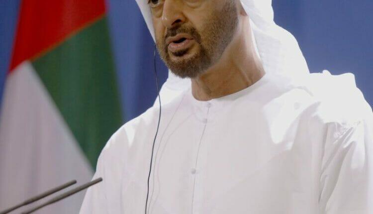 محمد بن زايد الجزر الإماراتية