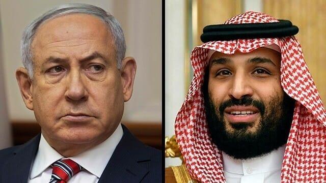 محمد بن سلمان ونتنياهو