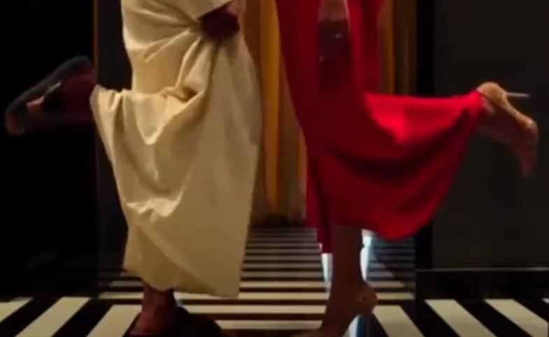 مشهد من فيلم راشد ورجب الإماراتي يثير ضجة
