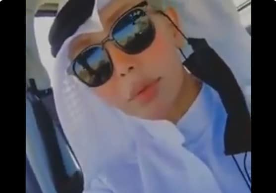 مها المطيري المعروفة في الكويت باسم ططوة المطيري