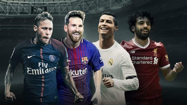 نجوم عالم كرة القدم الأوروبية