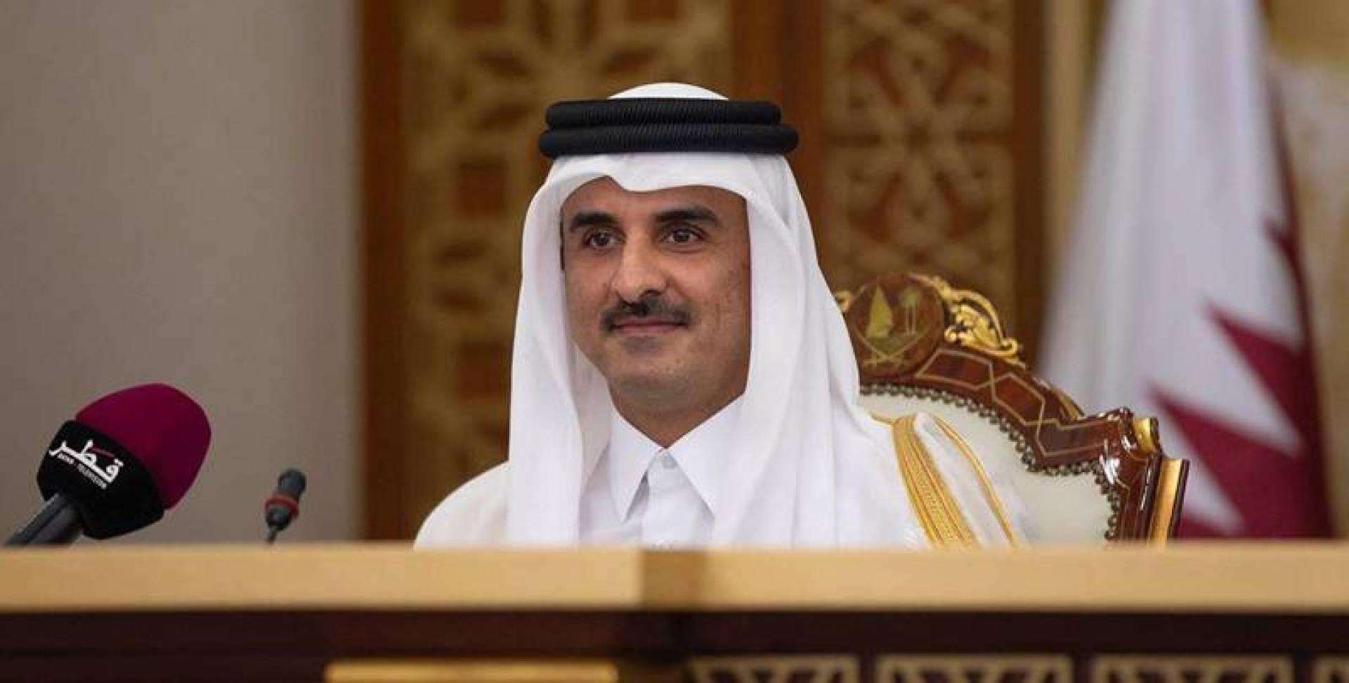 أمير قطر يرفض يمارس رياضة المشي مع بناته