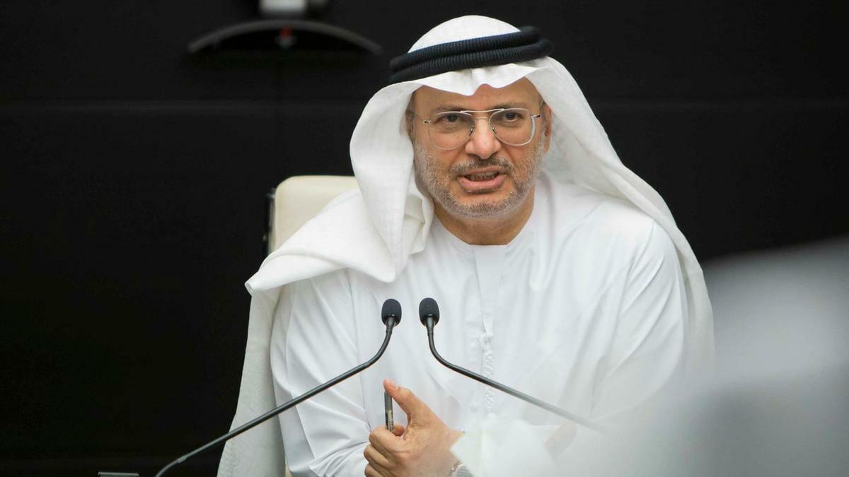 أنور قرقاش يَذكر قطر بالخير لأول مرة