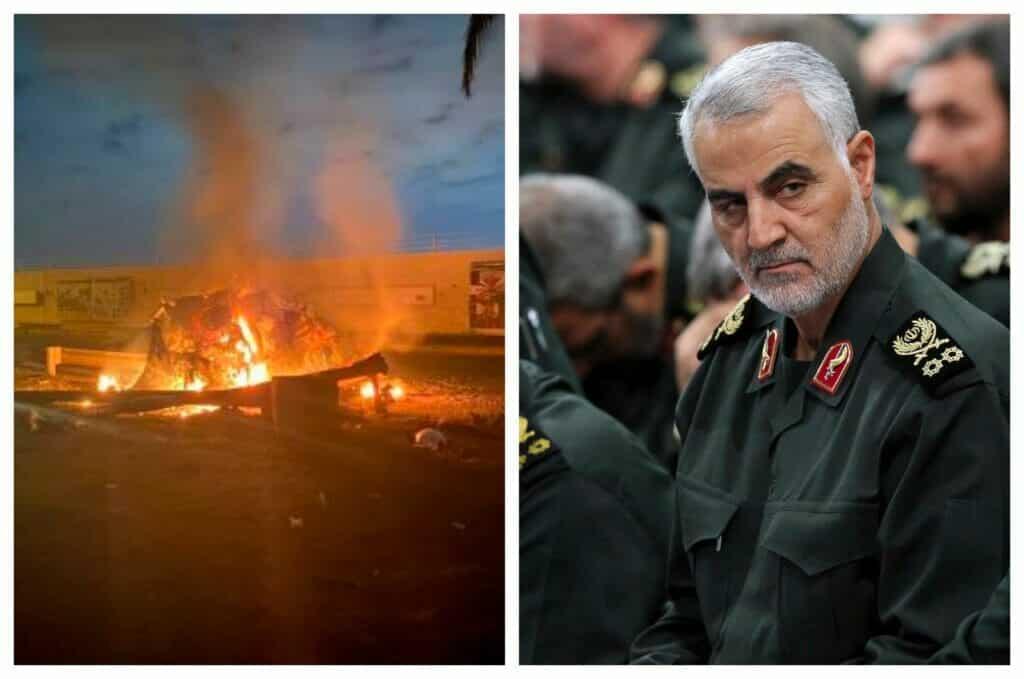 قط تمنع حرباً بعد اغتيال قاسم سليماني في العراق