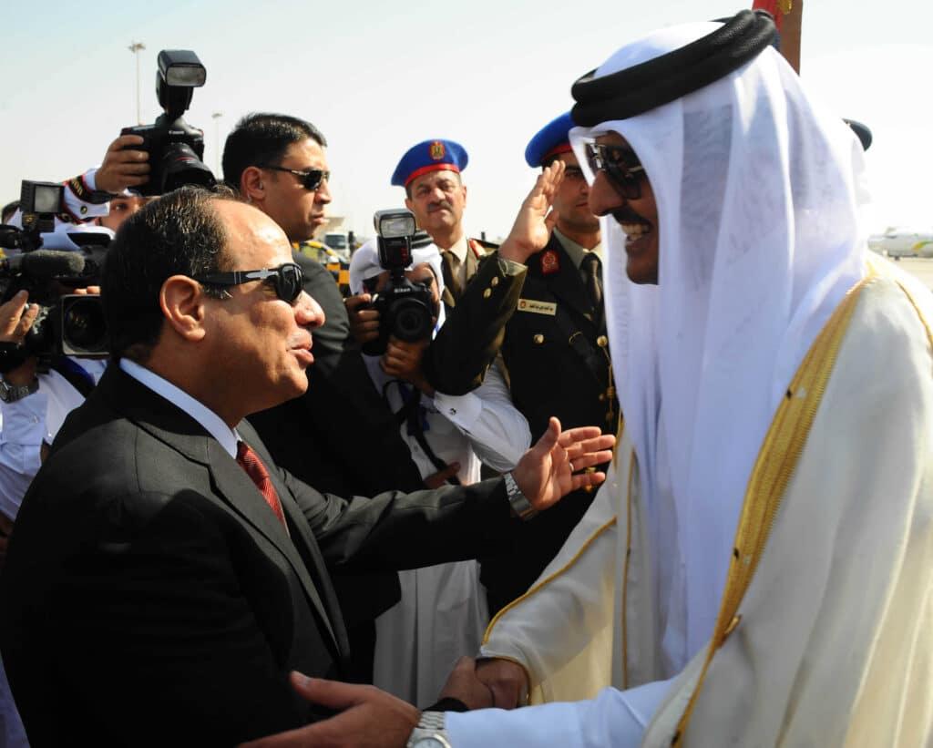 هل تعهدت قطر بتغيير سياسة الجزيرة في اجتماع مغلق مع مسؤولين مصريين وإماراتيين!