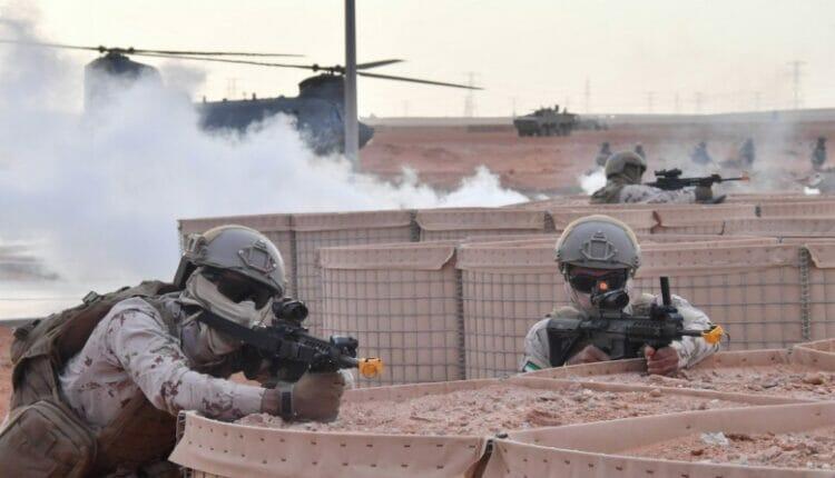 الجيش الاماراتي محمد بن زايد
