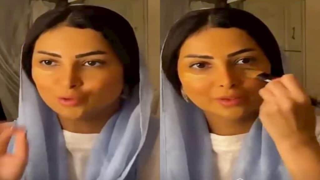 العنود عبدالله تخلع الحجاب