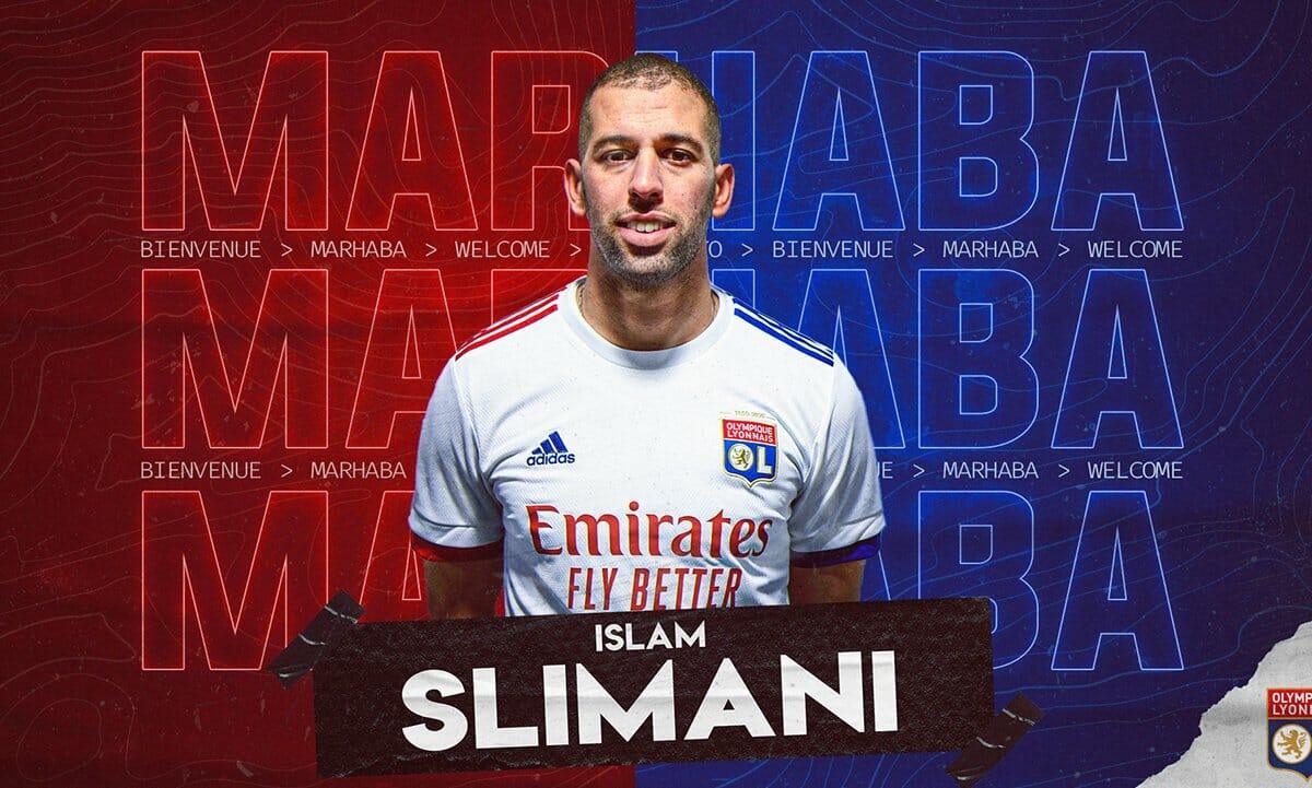 اللاعب الجزائري إسلام سليماني