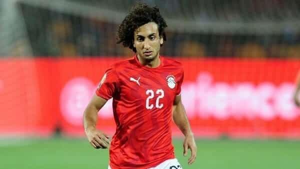 اللاعب المصري عمرو وردة