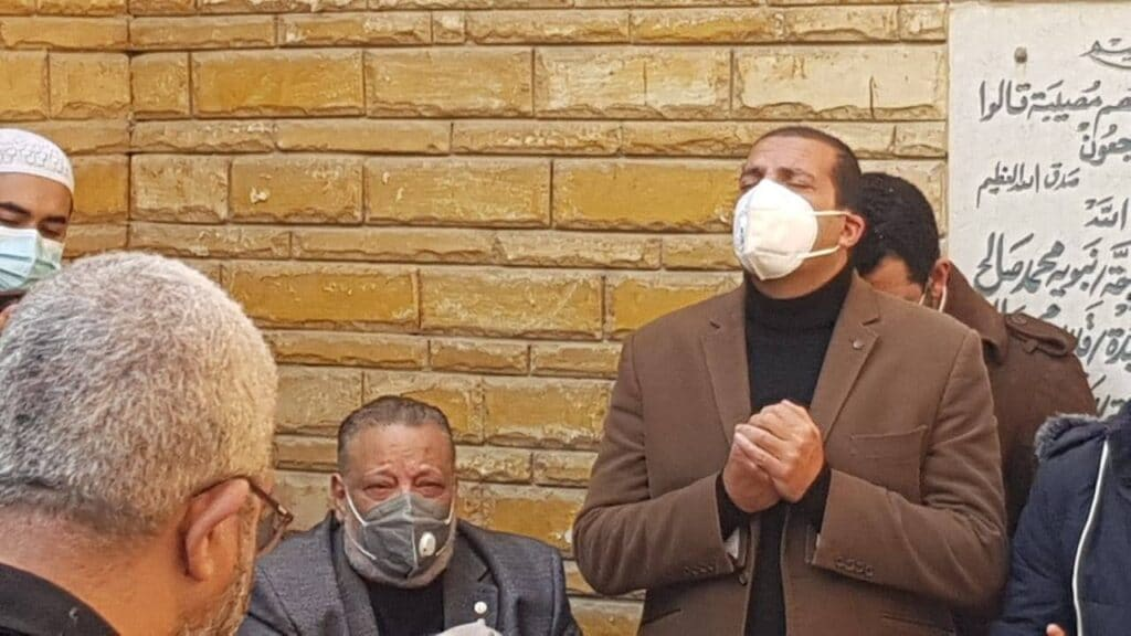 جنازة عبلة الكحلاوي تشهد انهيار المشاركين