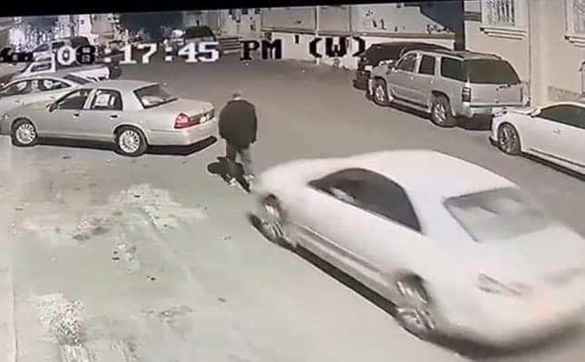 حادث دهس متعمد في السعودية