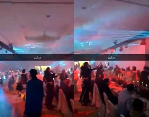 حفل راقص في فندق في الكويت برأس السنة