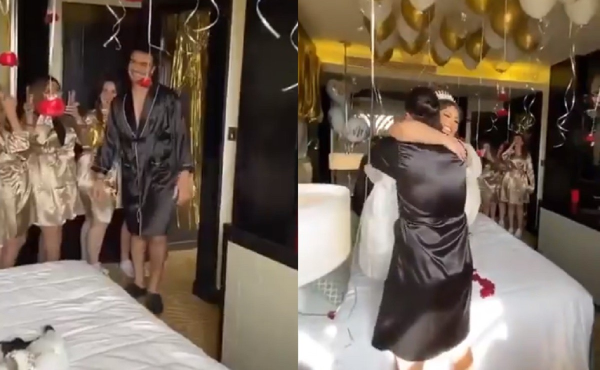 زواج غريب في مصر بملابس داخلية للعروسين .. والشهود في غرفة النوم!!