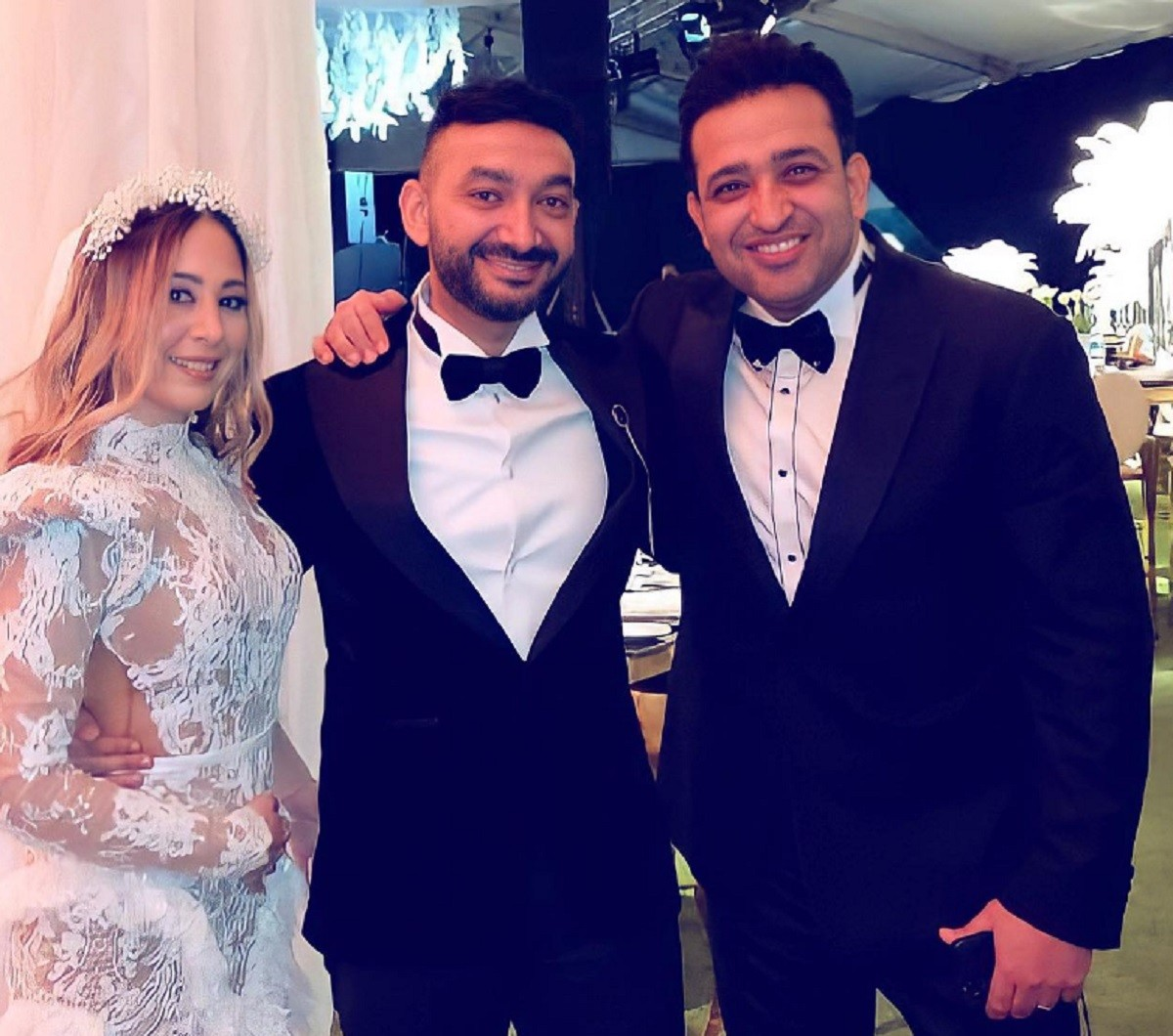 زفاف نادر حمدي و سارة حسني