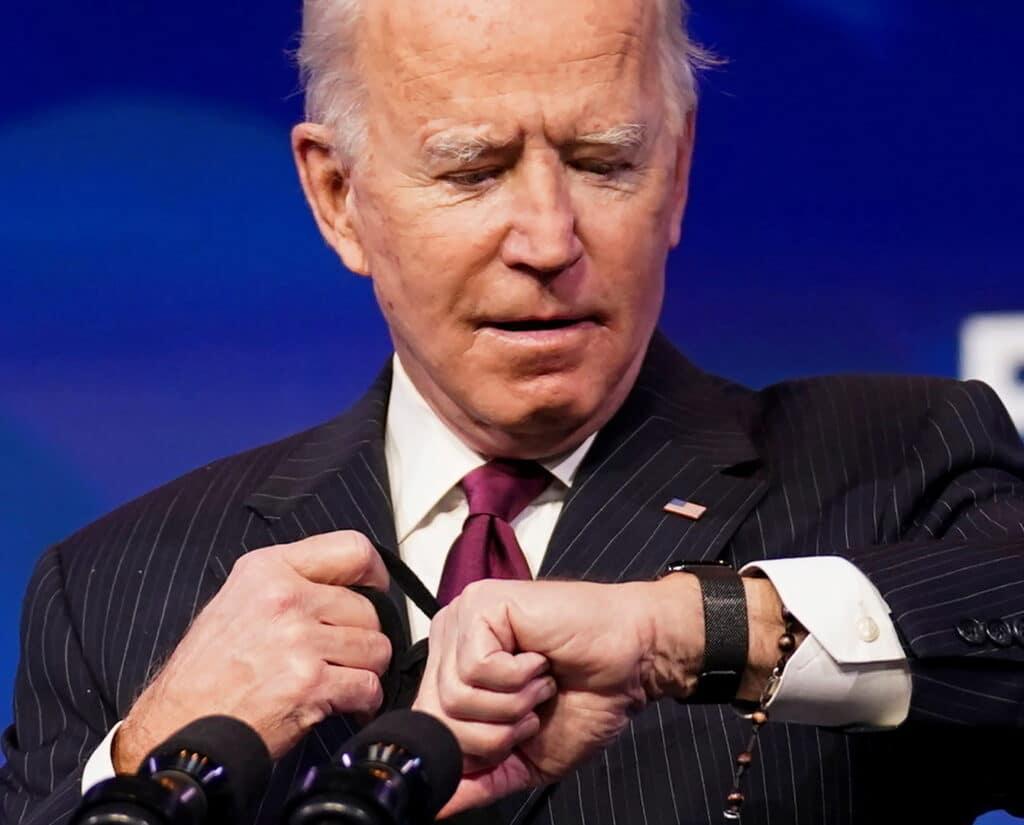 ساعة بايدن تثير الجدل مع دخوله البيت الأبيض