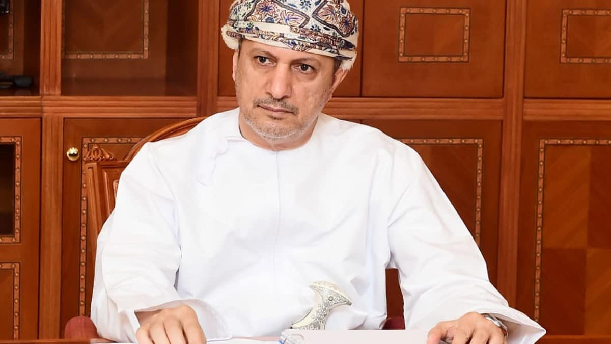 وزير مالية عمان سلطان بن سالم الحبسي