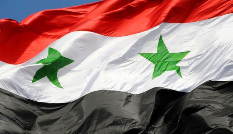 علم الجمهورية العربية السورية
