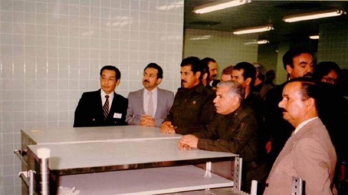 رغد صدام حسين نعت صادق حميد علوش