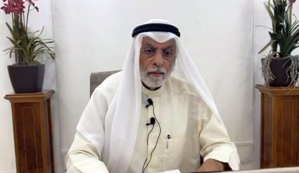 تهديد عبدالله النفيسي بفيديو مفبرك