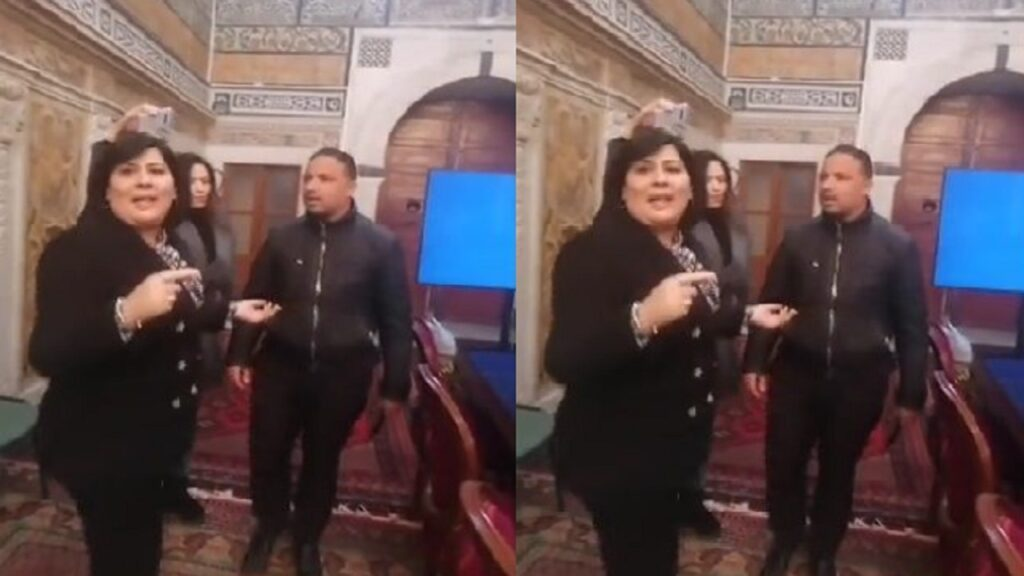 عبير موسى وسيف الدين مخلوف