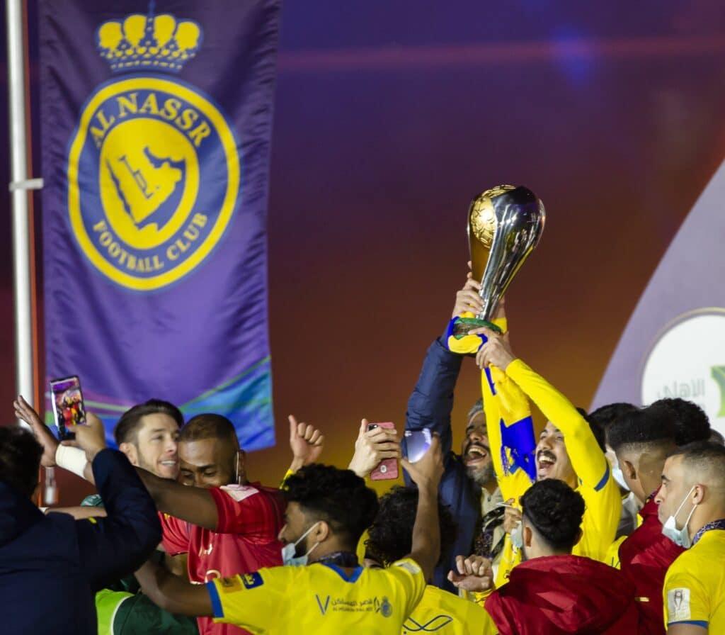 فريق النصر السعودي والتتويج بلقب السوبر
