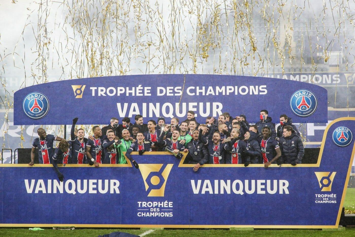 فريق باريس سان جيرمان بطلاً للسوبر الفرنسي