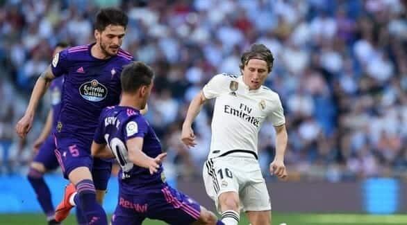 فريق ريال مدريد أمام سلتا فيغو