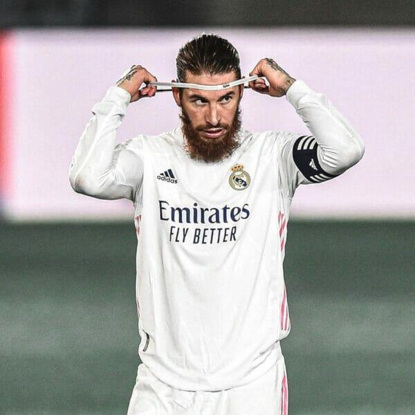 قائد فريق ريال مدريد سيرجيو راموس
